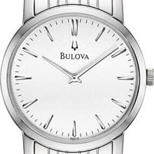 Relógio Bulova Classic Masculino Prata Branco WB21669Q