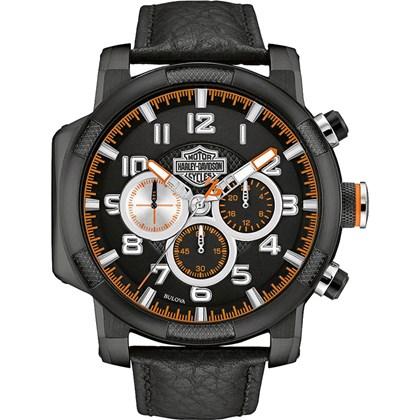 Relógio Bulova Harley Davidson Masculino Cronógrafo WH30555P