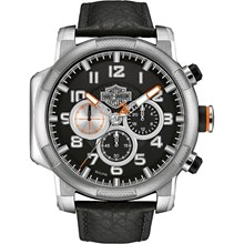Relógio Bulova Harley Davidson Masculino Cronógrafo WH30555T