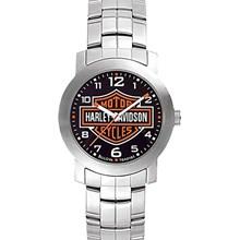 Relógio Bulova Harley Davidson Masculino Prata Preto WH30144T
