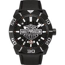 Relógio Bulova Harley Davidson Masculino Preto WH30537P