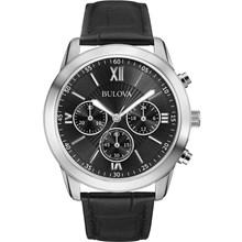 Relógio Bulova Masculino Cronógrafo Preto WB22382T