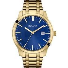 Relógio Bulova Masculino Dourado Azul WB22444Z