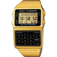 Relógio Casio Calculadora Masculino Dourado DBC-611G-1DF