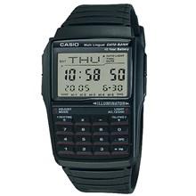 Relógio Casio Data Bank Masculino Borracha Preto DBC-32-1ADF