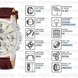 Relógio Casio Edifice Masculino EFV-580L-7AVUDF