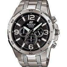 Relógio Casio Edifice Masculino Prata Preto EFR-538D-1AVUDF