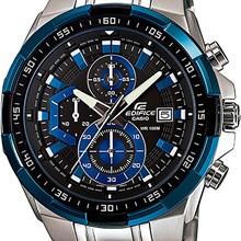 Relógio Casio Edifice Masculino Prata Preto EFR-539D-1A2VUDF
