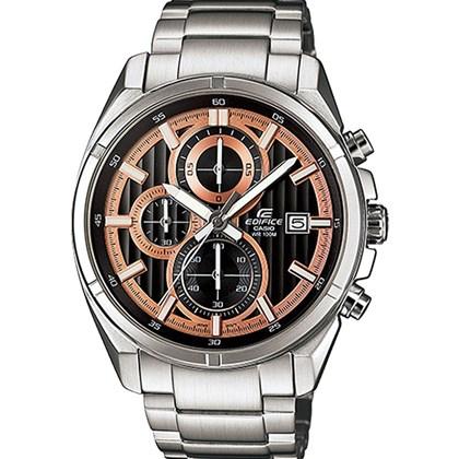 81338bb216a Relógio Casio Edifice Masculino Preto EFR-532ZD-1A5VUDF - My Time