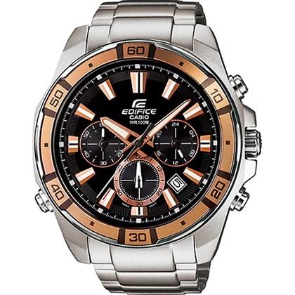 e8fae0dda8c Relógio Casio Edifice Masculino Preto EFR-534ZD-1A9VUDF - My Time