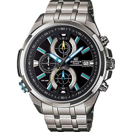 edd787c9698 Relógio Casio Edifice Masculino Preto EFR-536ZD-1A2VUDF - My Time