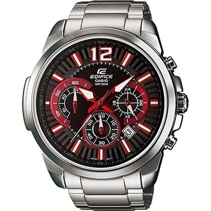 4d88b576819 Relógio Casio Edifice Masculino Vermelho EFR-535ZD-1A4VUDF - My Time