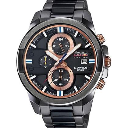 de7fd427a2e Relógio Casio Edifice Red Bull Masculino Preto EFR-543RBM-1ADR - My Time