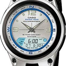 Relógio Casio Fishing Gear Masculino Prata AW-82-7AVDF