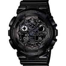 Relógio Casio G-Shock Masculino Preto Camuflado GA-100C-1ADR