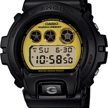 Relógio Casio G-Shock Masculino Preto DW-6900PL-1DR
