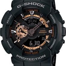 Relógio Casio G-Shock Masculino Preto GA-110RG-1ADR