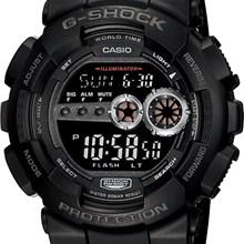 Relógio Casio G-Shock Masculino Preto GD-100-1BDR