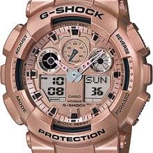 Relógio Casio G-Shock Masculino Rose GA-100GD-9ADR