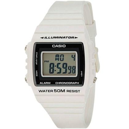 5622434707e Relógio Casio Illuminator Masculino Branco W-215H-7AVDF - My Time