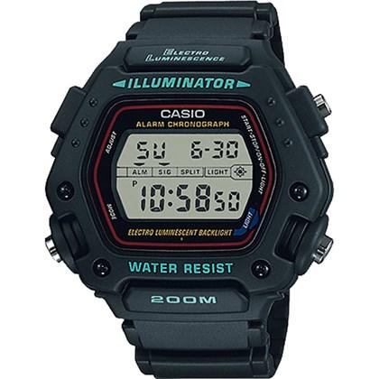 b978393c285 Relógio Casio Illuminator Masculino DW-290-1VS - My Time