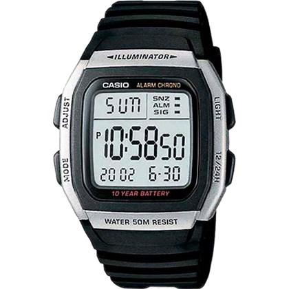 7a5e42eb6d4 Relógio Casio Illuminator Masculino W-96H-1AVDF - My Time