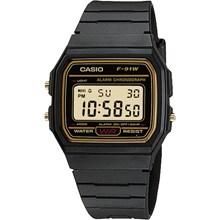 Relógio Casio Masculino Digital Preto F-91WG-9QDF