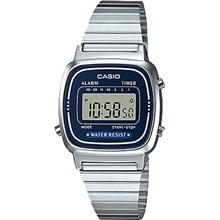 Relógio Casio Vintage Feminino Azul LA670WA-2DF