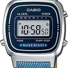 Relógio Casio Vintage Feminino Jeans Azul LA670WL-2A2DF