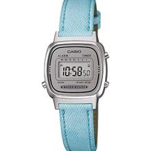 Relógio Casio Vintage Feminino Jeans Azul LA670WL-2ADF