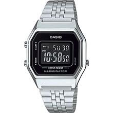 Relógio Casio Vintage Feminino Prata LA680WA-1BDF