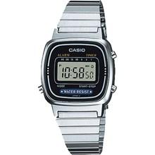 Relógio Casio Vintage Feminino Preto LA670WA-1DF