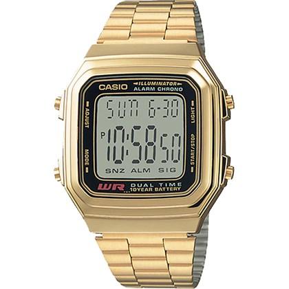 4ab32cccb98 Relógio Casio Vintage Masculino A178WGA-1AUDF - My Time