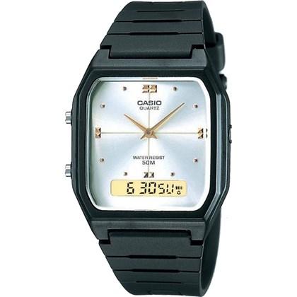 2cdbac9c95f Relógio Casio Vintage Masculino AW-48HE-7AVDF - My Time