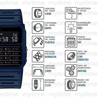 Relógio Casio Vintage Masculino CA-53WF-2BDF