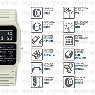 Relógio Casio Vintage Masculino CA-53WF-8BDF