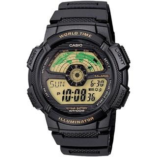 Relógio Casio World Time Masculino AE-1100W-1BVDF
