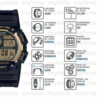 Relógio Casio World Time Masculino AE-1400WH-9AVDF