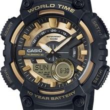 Relógio Casio World Time Masculino AEQ-110BW-9AVDF