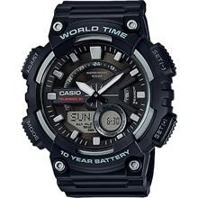 Relógio Casio World Time Masculino AEQ-110W-1AVDF