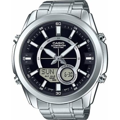 Relógio Casio World Time Masculino AMW-810D-1AVDF