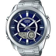Relógio Casio World Time Masculino AMW-810D-2AVDF