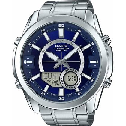 Relógio Casio World Time Masculino AMW-810D-2AVDF
