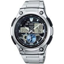 Relógio Casio World Time Masculino AQ-190WD-1AVDF