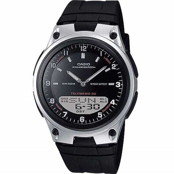 Relógio Casio World time Masculino AW-80-1AVDF