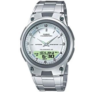 Relógio Casio World Time Masculino AW-80D-7AVDF