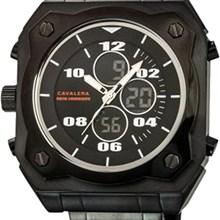 Relógio Cavaleira Masculino Cronógrafo Preto CV28212