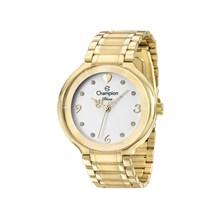 Relógio Champion Diva Feminino Dourado Branco CN29696H
