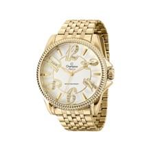 Relógio Champion Elegance Feminino Dourado CN27358H