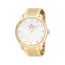 Relógio Champion Elegance Feminino Dourado Prata CN26224H